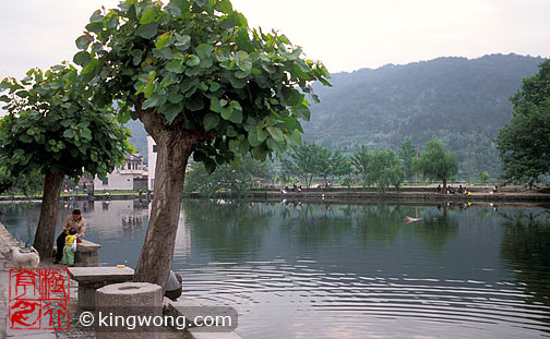 宏村 - 南湖 Hongcun village - Nanhu (South Lake)