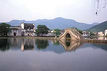 Picture of 宏村 - 南湖的画桥 Hongcun - South Lake's Picture Bridege