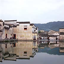 Picture of 宏村 - 月沼 Hongcun village - Yuezhao (Crescent Lake)