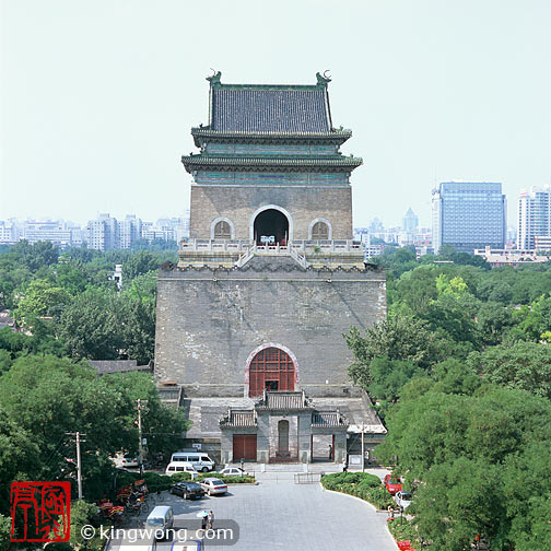 北京市 -- 钟楼 Beijing City -- Bell Tower