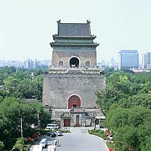 Picture of 北京市 -- 钟楼 Beijing City -- Bell Tower