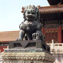 Picture of 故宫--狮子 Gugong(The Palace Museum)-- Bronze Lion