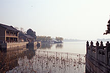 Picture of 昆明湖一景 A view of the Kunming Lake