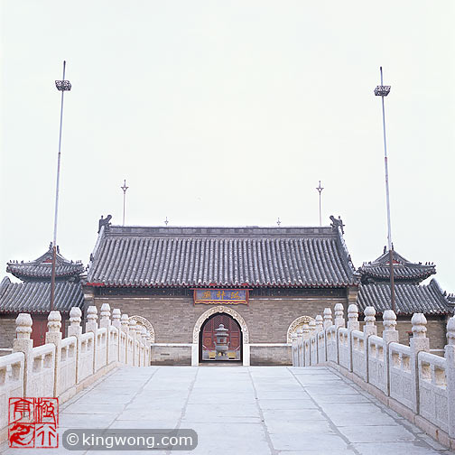 老龙头 - 庙 Laolongtou (Old Dragon Head) - Temple