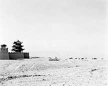 Picture of 嘉峪关 - 西关楼 Jiayuguan (Jiayu Pass) - West Tower and Gate