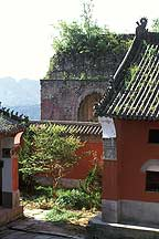 Picture of 武当山 - 庙 Wudangshan ( Wudang Mountains ) - Temple