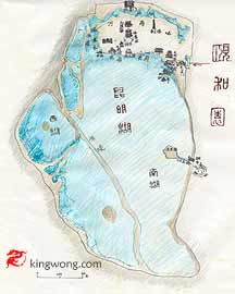small map of Summer Palace