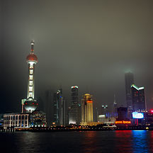 Picture of 上海市 - 东方明珠电视塔 Shanghai City - Eastern Pearl Tower