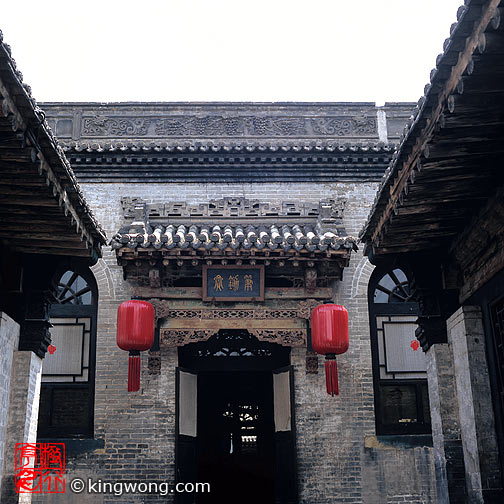 乔家大园 - 门楼 Qiao family's compound