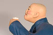 酒鬼 clay figure of a wine drinker